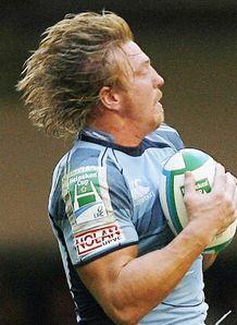 Andy Powell midair
