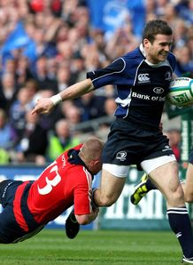 Gordon D Arcy try Leinster v Munster
