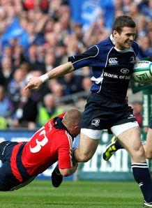Gordon D Arcy try Leinster v Munster