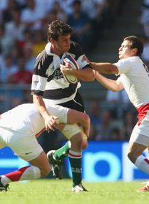 Martin Corry against England