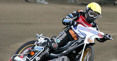 Jonsson: can his home crowd lift him to glory? Photocredit:fotospeedway.pl