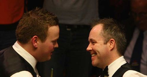 john higgins cue. Murphy amp; Higgins: head-to-head