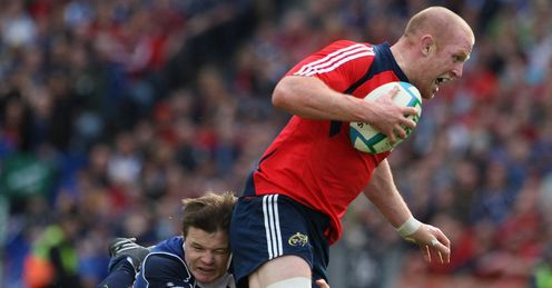 O'Driscoll is renowned on the world stage while O'Connell still has much to prove