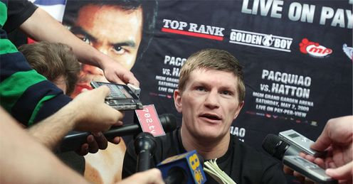 Hatton: all eyes on the Hitman