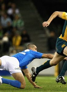Adam Ashley Cooper cruising against Italy