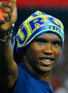 Eto'o wants Barca stay