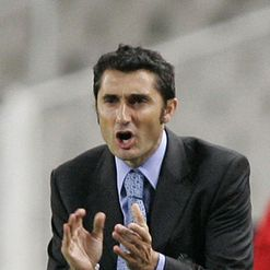Valverde: In charge at Mestalla