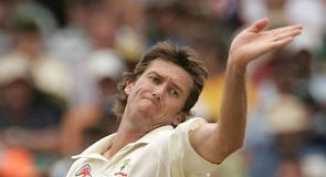 Glenn McGrath: relentlessly accurate