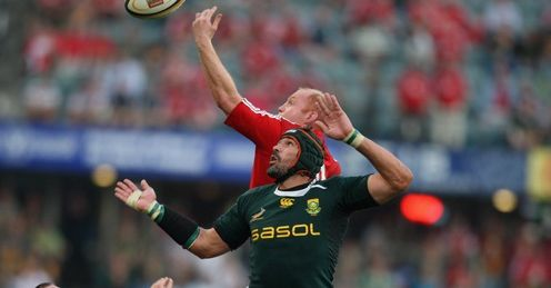 Victor Matfield has played a key role in South Africa's series win over the Lions