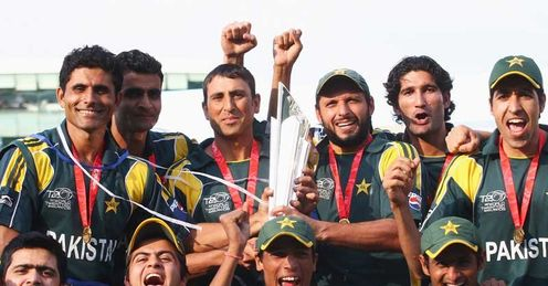 Defending champions: Pakistan triumphed in England in 2009