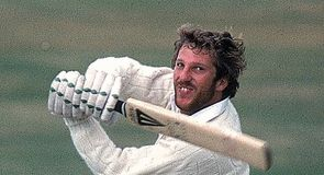 Hooked: Botham's strokeplay of 1981 gripped a nation