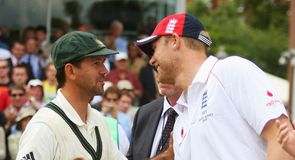 Ponting & Flintoff: a big week for the old adversaries