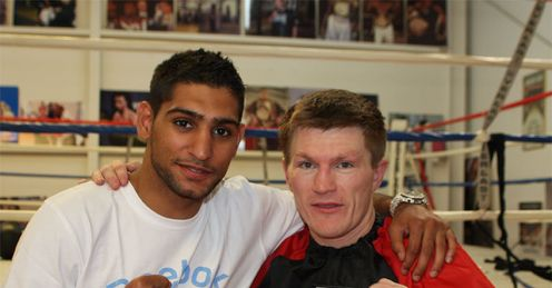Khan and Hatton: Pair return to the ring this year