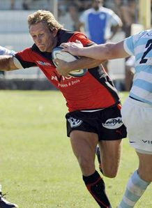 Jonny Wilkinson Toulon playing against Racing Metro August 22