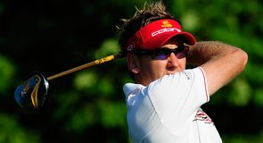 Ian Poulter kept up his good form in round two.