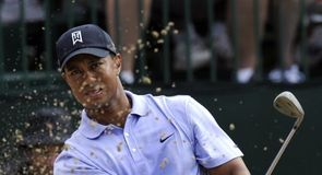 Tiger Woods went on the charge again today