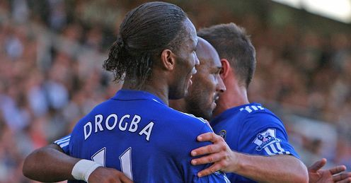 Drogba, Anelka & Lampard: all in double figures