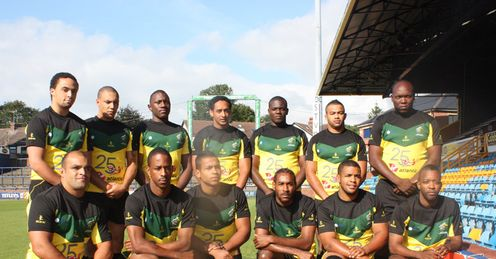 Jamaica: on tour of UK
