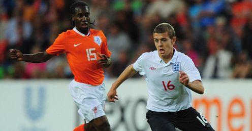 Jack Wilshere Vurnon Anita Holland Under-21s v England Under-21s U21 Groningen