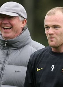 Fergie plays down Rooney claim