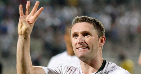 Keane: scoring for club and country