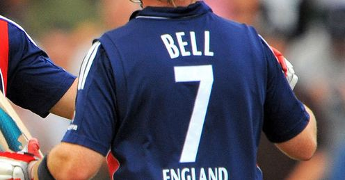 Out of the picture: the No 7 has not brought Ian Bell recent one-day cheer