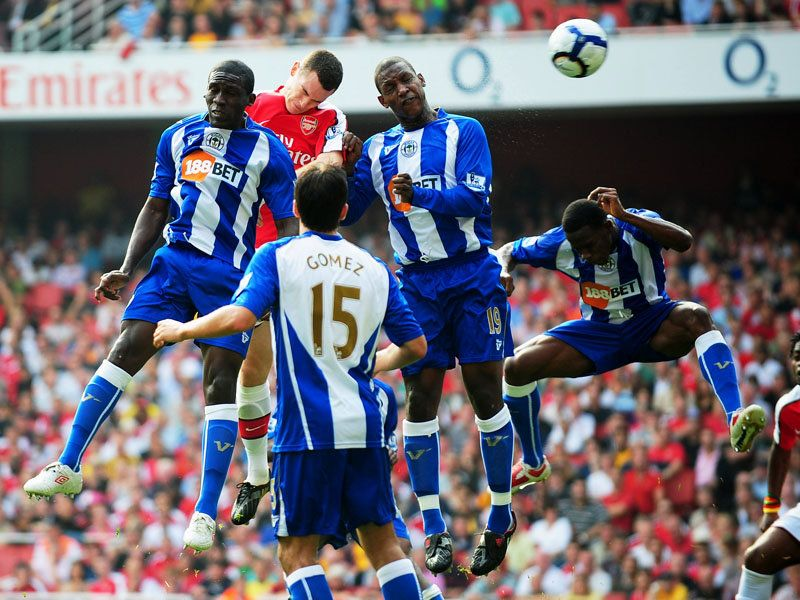 Little suggests that Wigan will claim their first league win over Arsenal this weekend