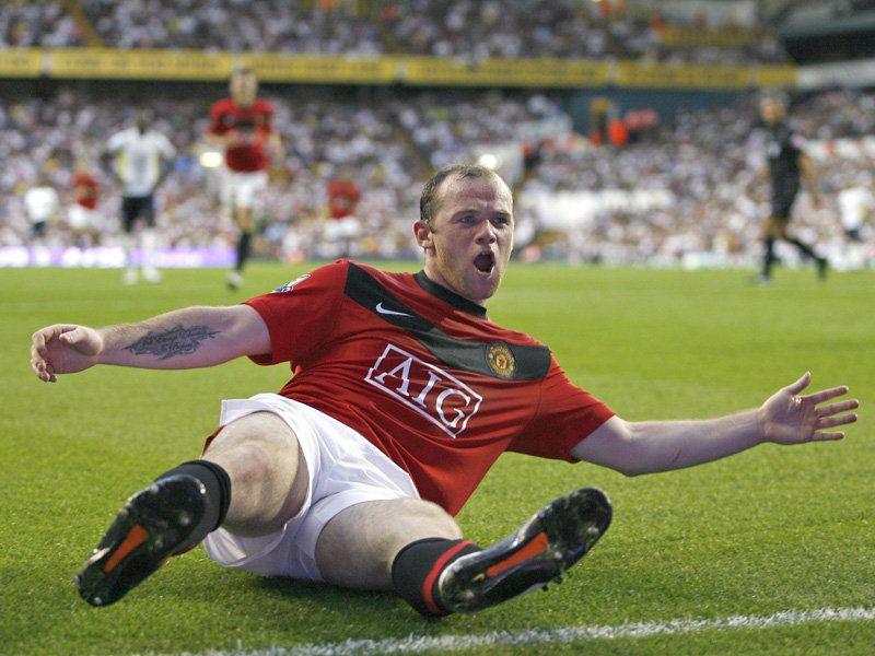اروع صور على الاطلاق للنجم واين رونى Tottenham-v-Man-Utd-Wayne-Rooney-celeb_2359709