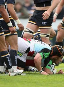 Danny Care try against Worcester