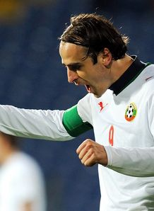 Berbatov breaks Bulgaria record