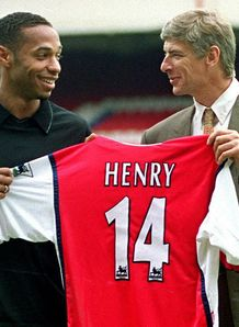 Henry praise for Wenger