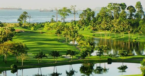 Sentosa&#39;s Serapong course