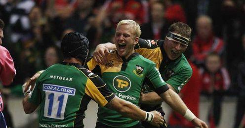 Shane Geraghty Northampton v Munster 10/10/2009