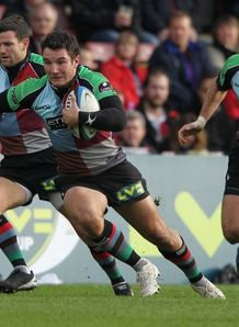 George Lowe on a run for Harlequins
