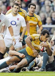 Will Genia try v England