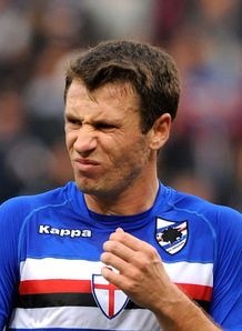 Samp president backs Cassano
