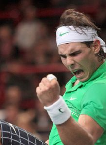 Nadal escapes to victory