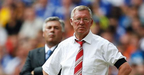 Ancelotti & Ferguson: face big tests on Sunday