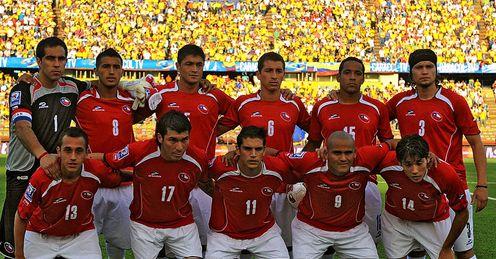 รายชื่อนักเตะทีมชาติ ชิลี ฟุตบอลโลก 2010