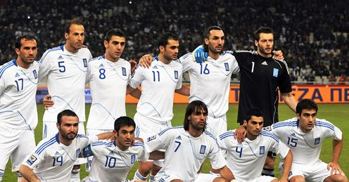Greece Worldcup Team 2010