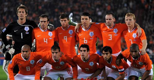 World Cup Netherlands Team