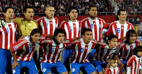 Paraguay Squad WorldCup 2010