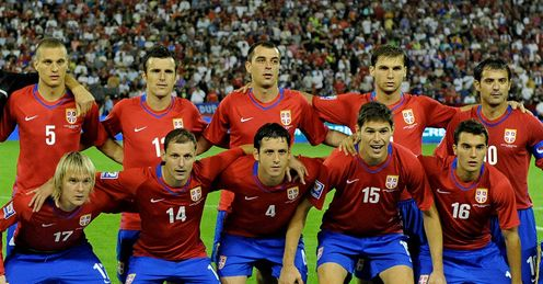 Serbia Squad Team World Cup 2010