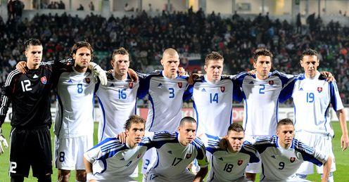 World Cup Slovakia Team