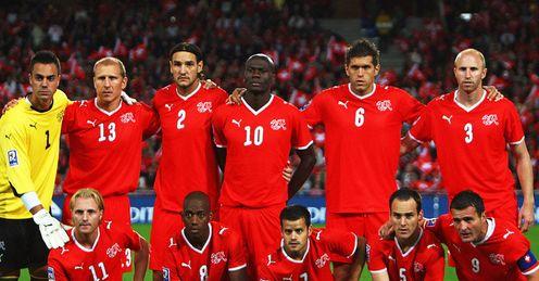 Switzerland Team World Cup 2010