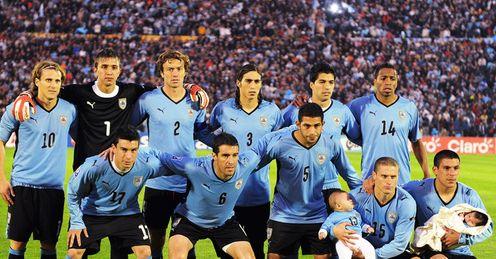 World Cup Uruguay Team