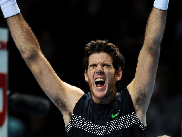 Del Potro: Pure power