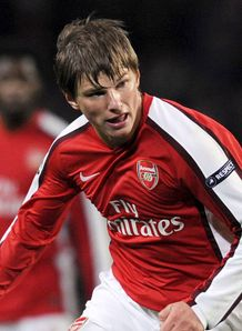 Arshavin critical of form