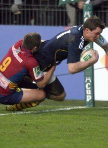 Denis Hurley munster score v perpignan