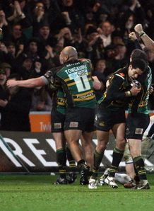 Northampton celebrate late win